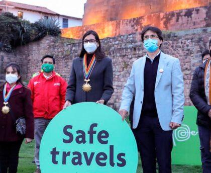 Turismo responsable y seguro: ciudad del Cusco recibe el sello Safe Travels